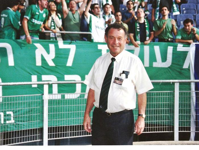 """דוד (""""לולו"""") ירון ז""""ל 1935-2012"""