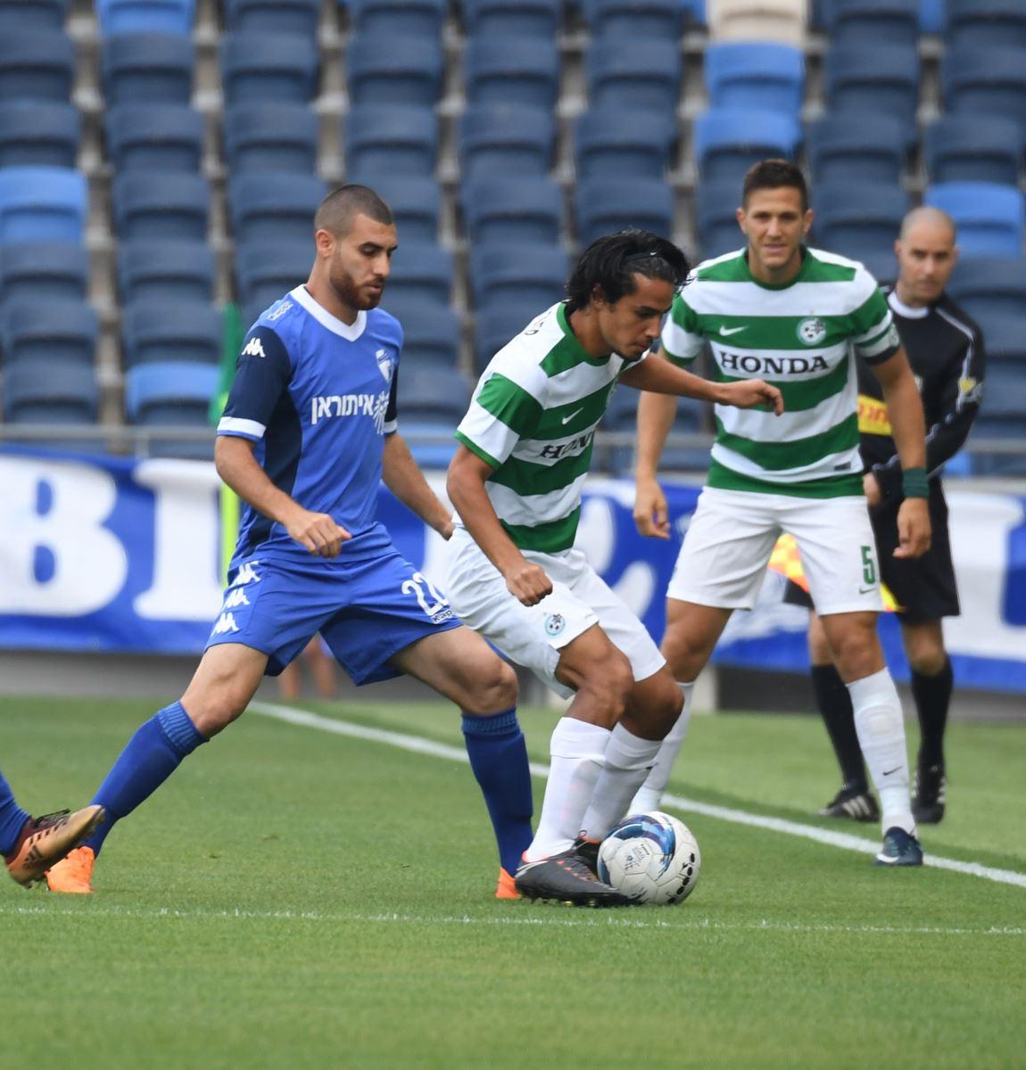 Maccabi Haifa verliest met 1-2 van Kiryat Shmona