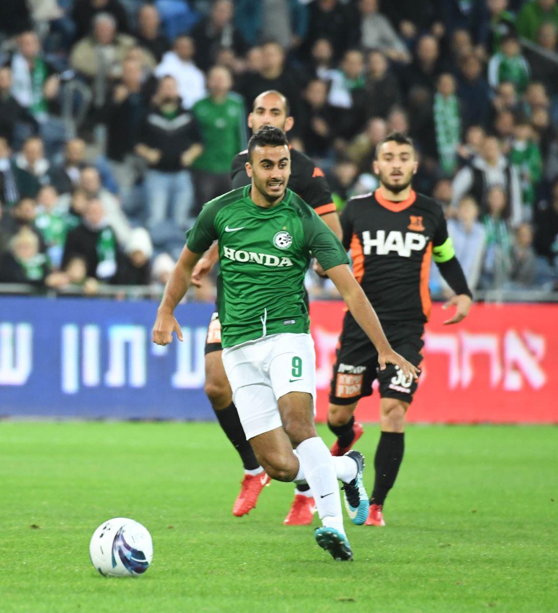 מכבי חיפה מפסידה 2:0 לבני יהודה