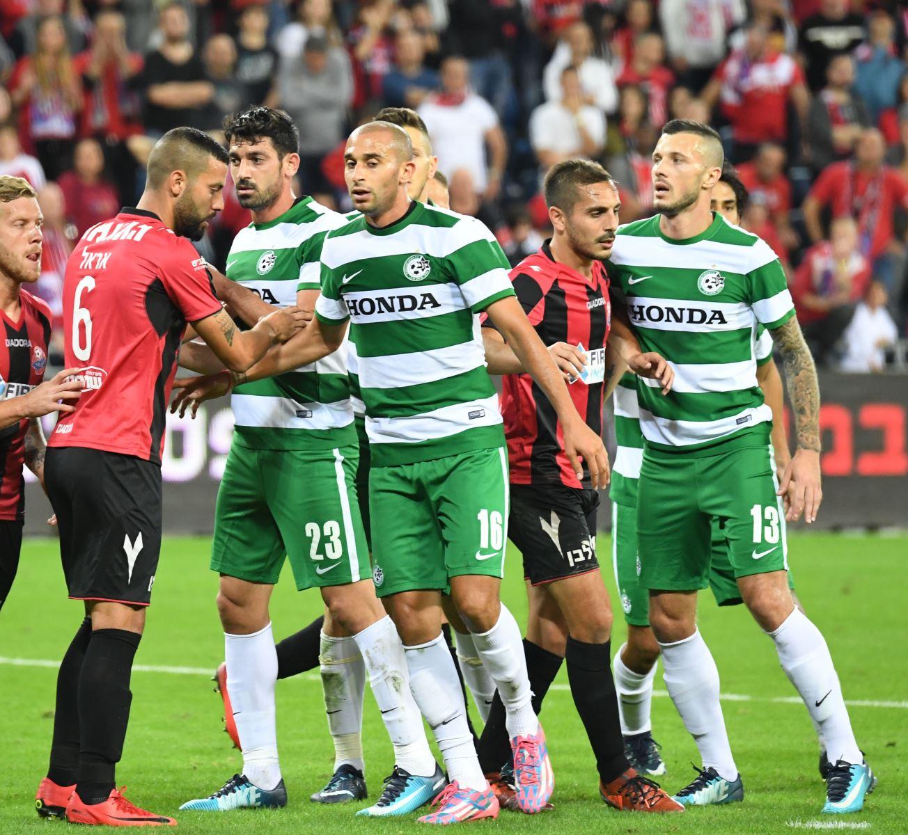 מכבי חיפה מפסידה 1:0 להפועל חיפה