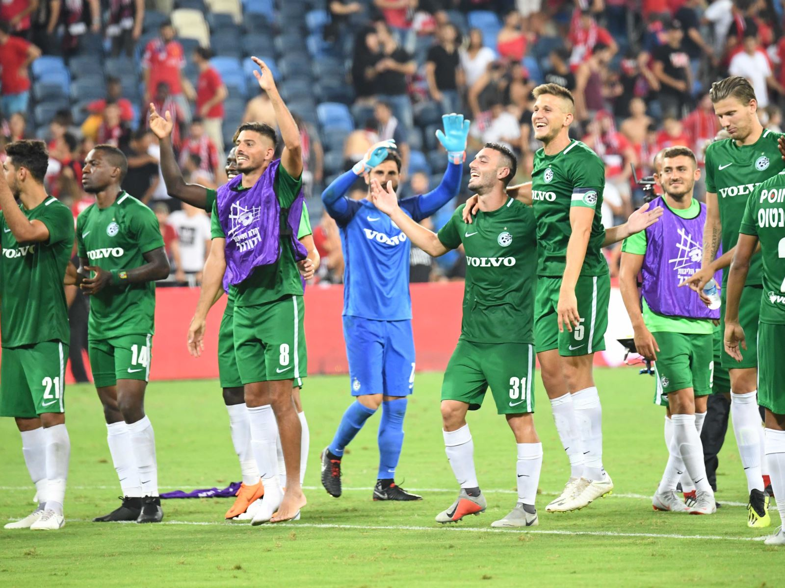 Maccabi won Hapoel in Haifa's derby