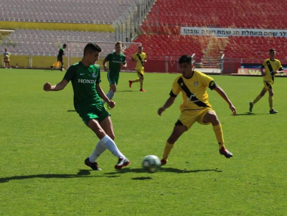 גביע: שתי קבוצות ממחלקת הנוער בגמר