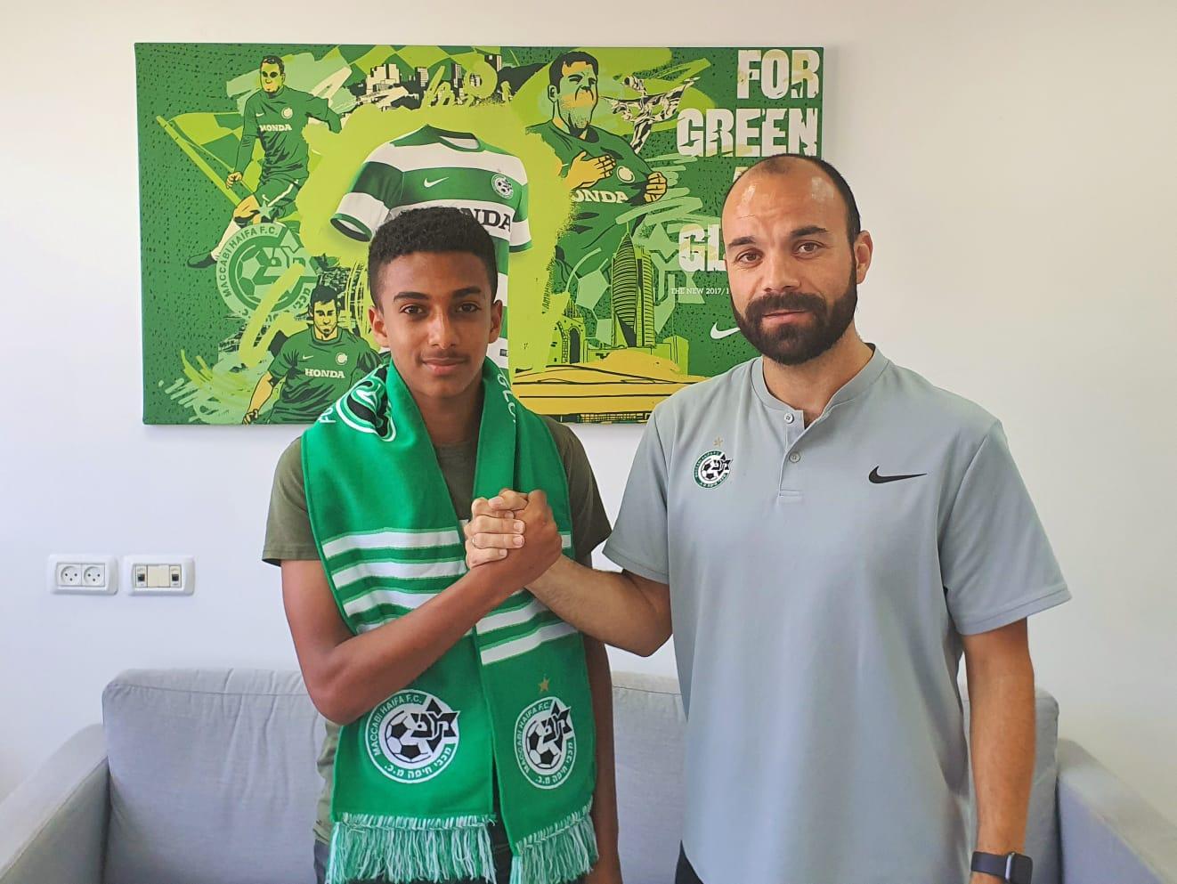 מלסה חתם במכבי חיפה