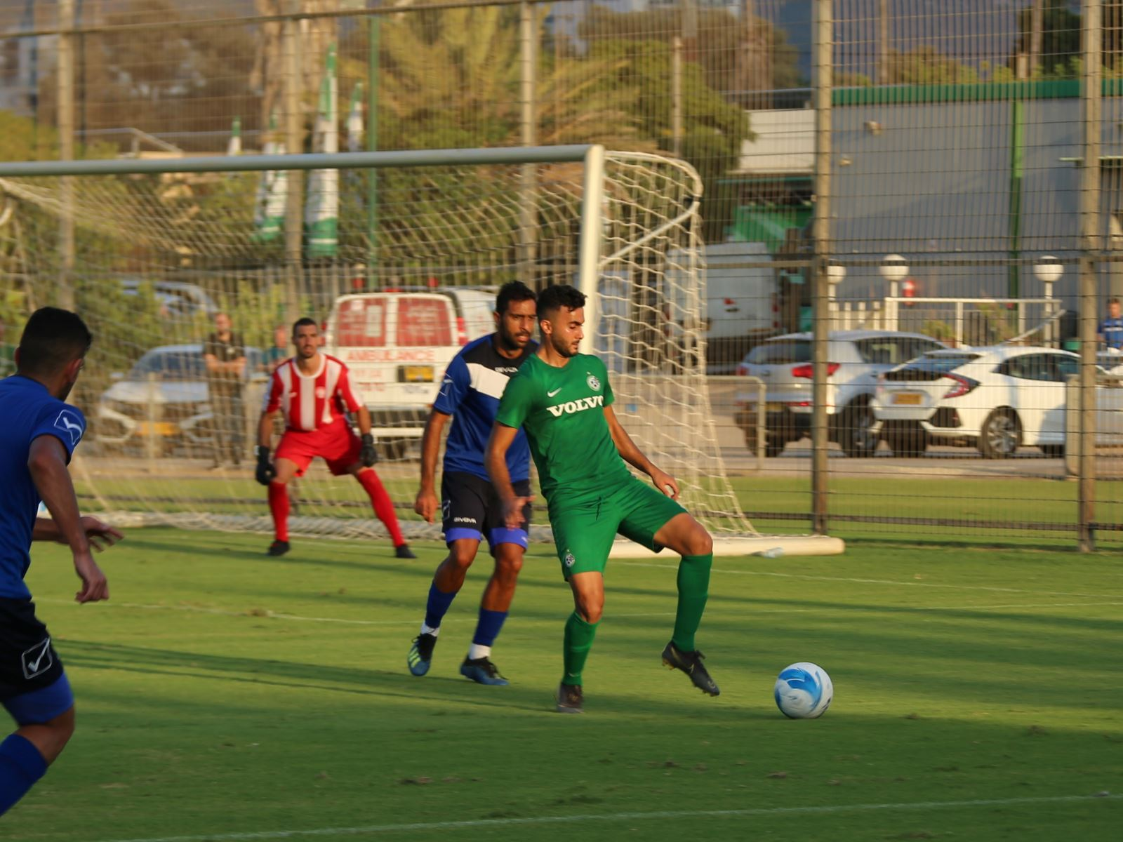 אימון: מכבי ניצחה את באקה 0:3