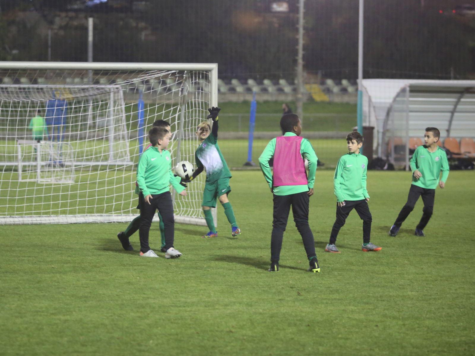 """בי""""ס לכדורגל חזר לפעילות מלאה"""