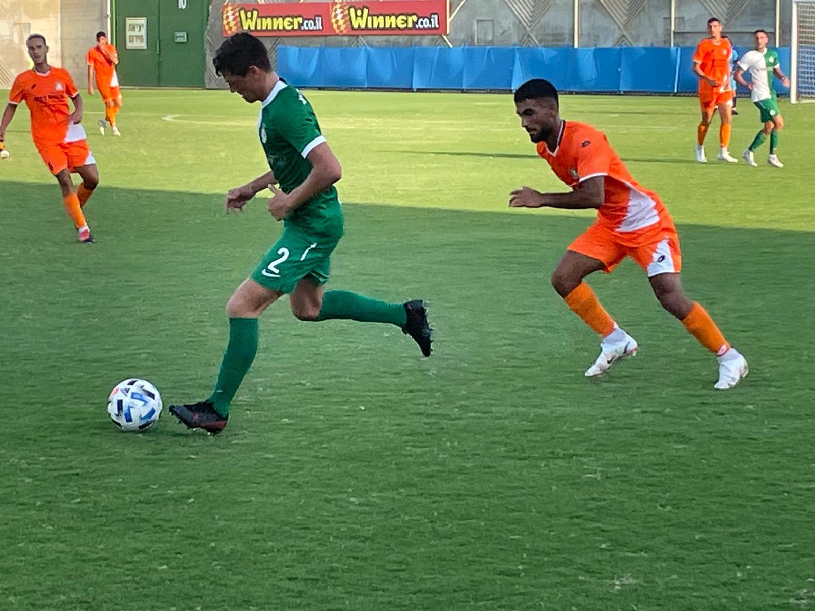 נוער: ניצחון 0:1 בנס ציונה