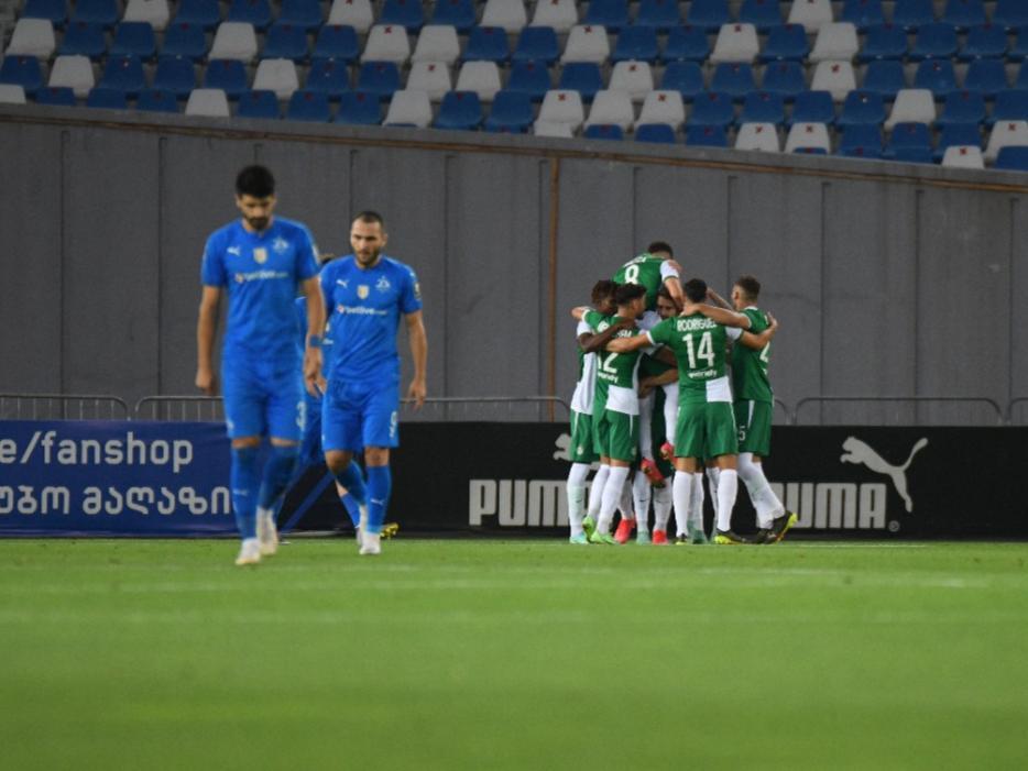 Maccabi beats Dinamo Tbilisi away