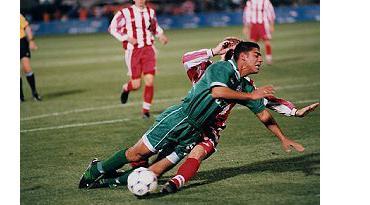 לוקומוטיב מוסקבה עצרה את יניב קטן מלהגיע לרבע הגמר ב- 99'.  צילום: מימל