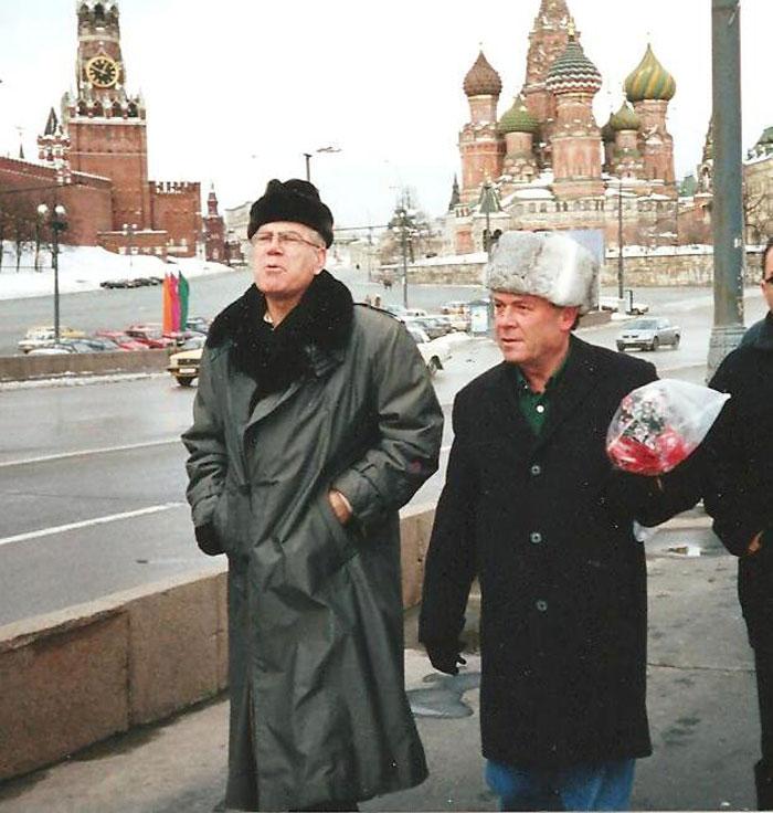 """לולו"""" עם הנשיא שחר במוסקבה"""""""